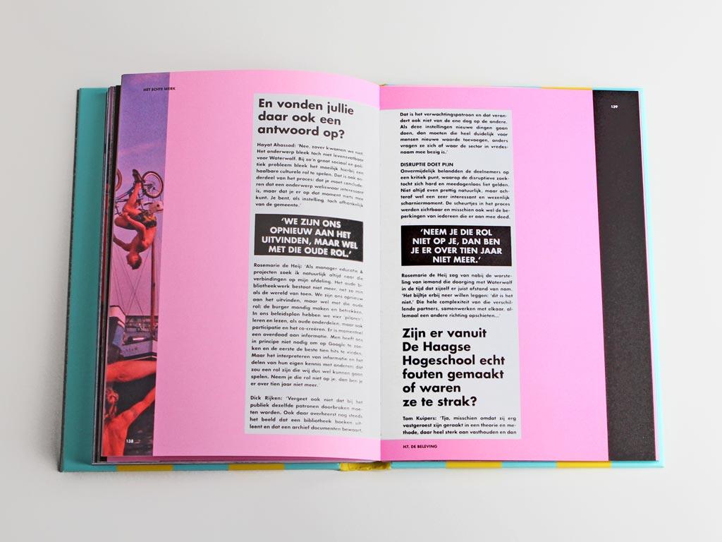 Het Echte Werk Waterwolf boek spread
