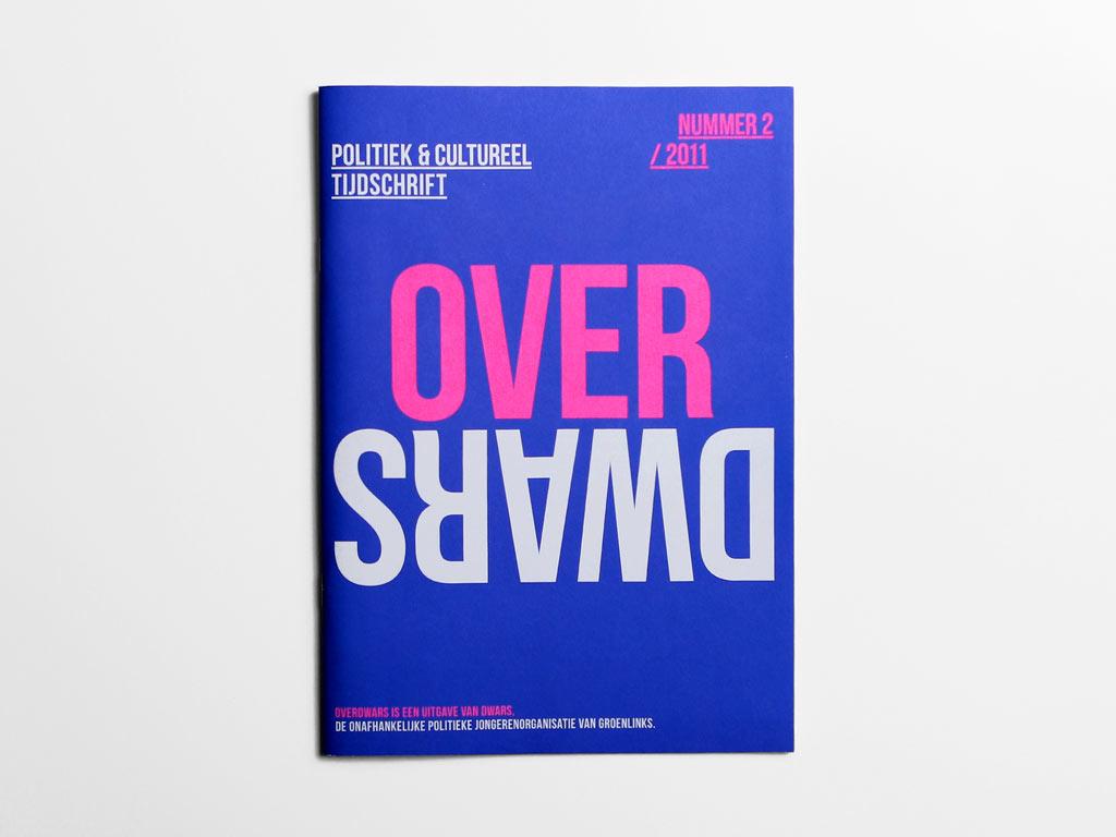 Magazine OverDWARS #1 cover blauw DWARS