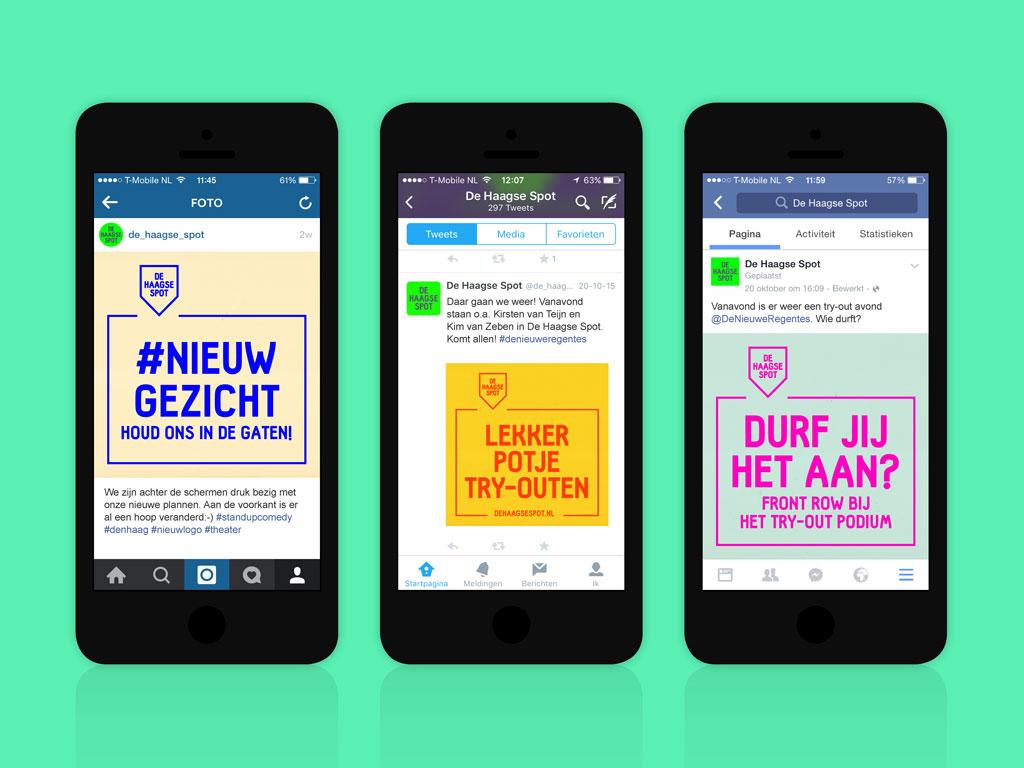 De Haagse Spot social media