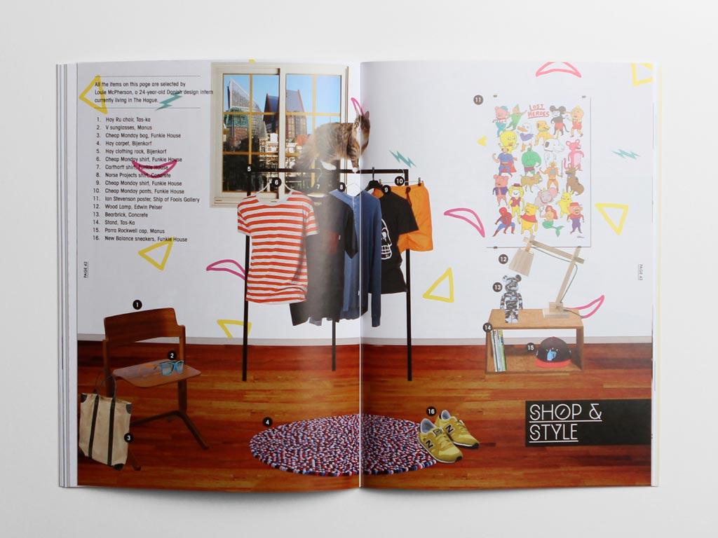 Maggazine Den Haag shopping
