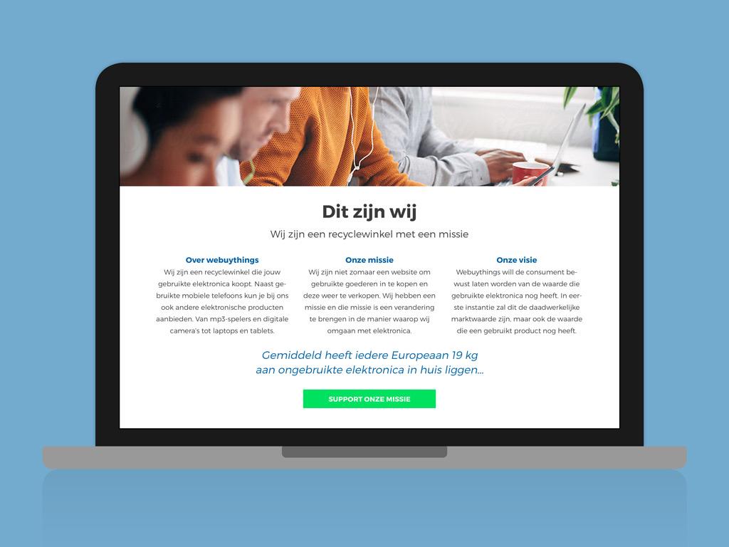 Webuythings website