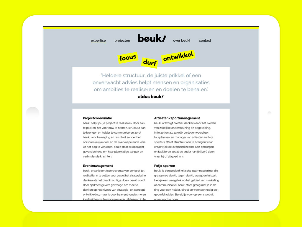 Annick Beukers website