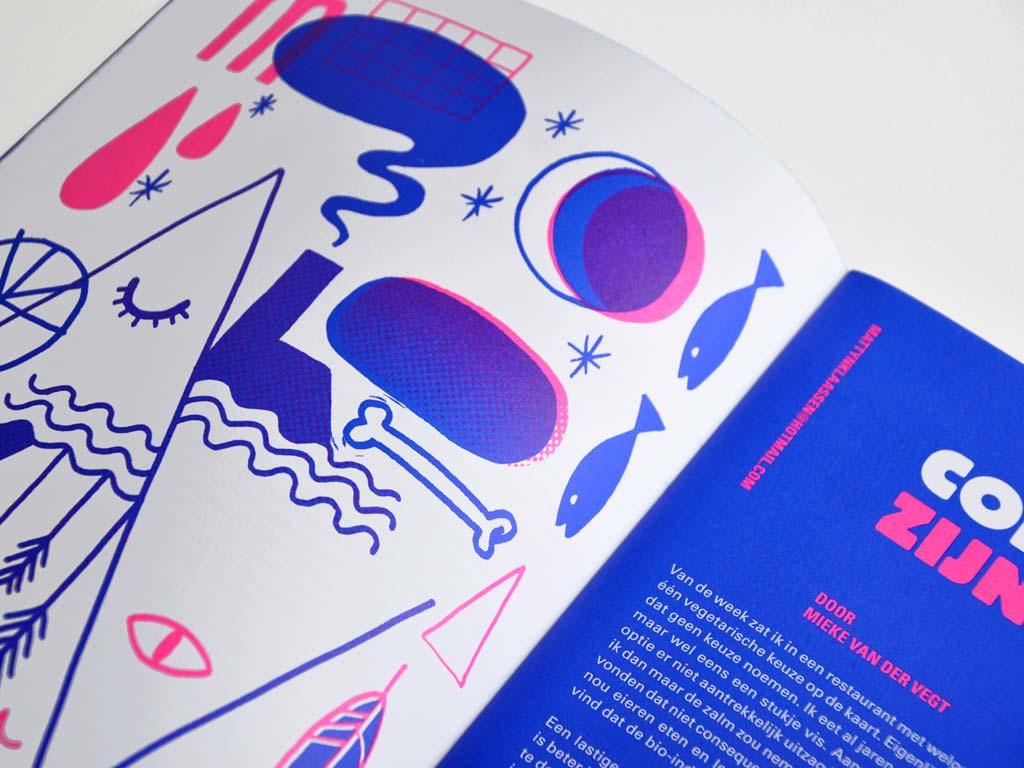 Magazine OverDWARS #1 illustratie DWARS