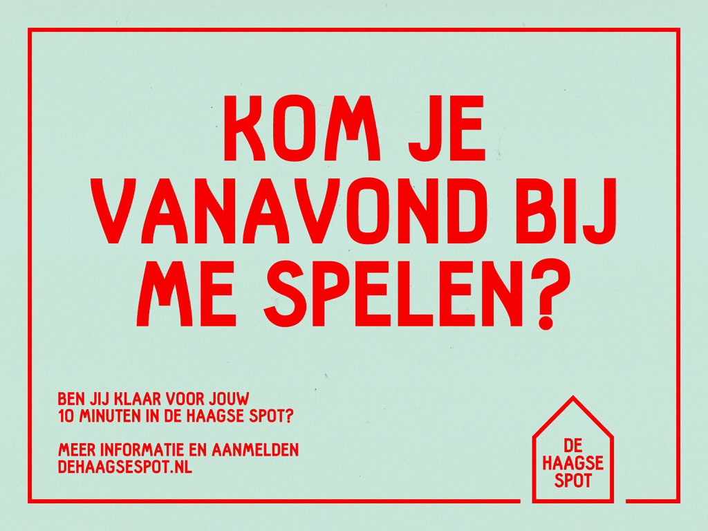 De Haagse Spot visuele identiteit