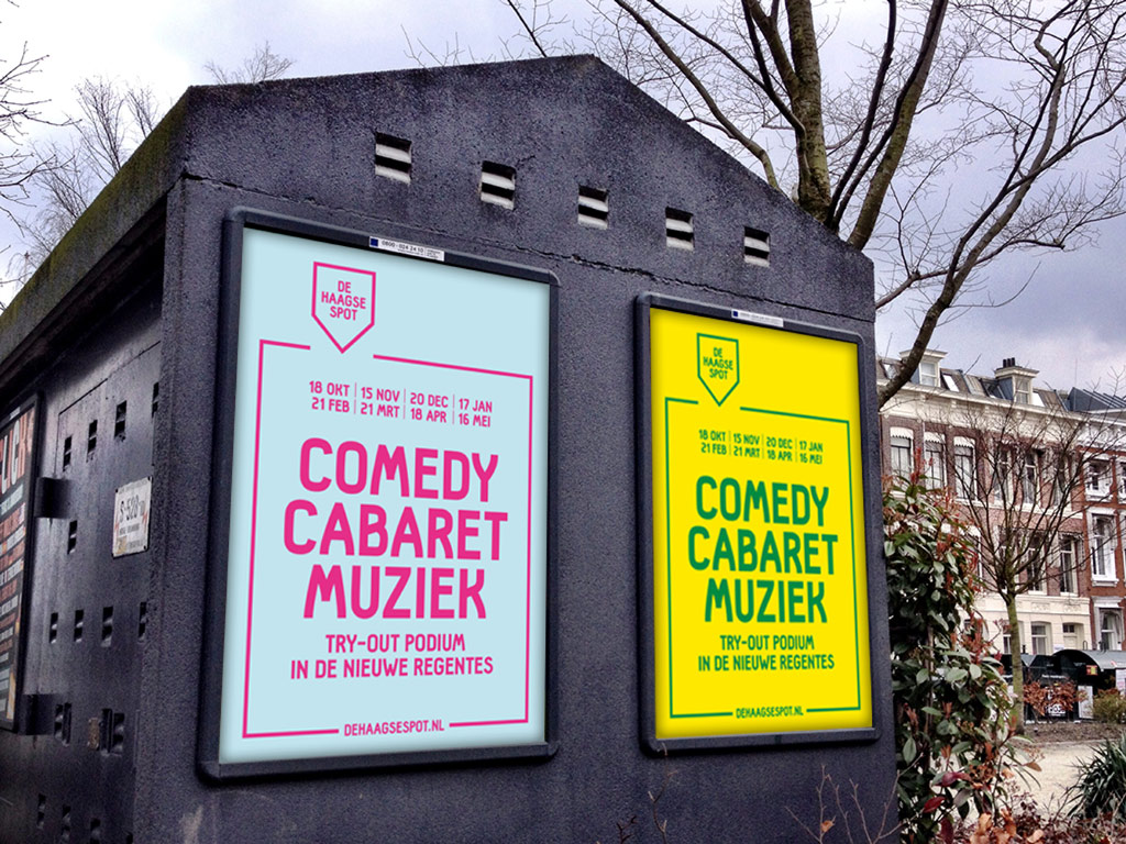 De Haagse Spot posters