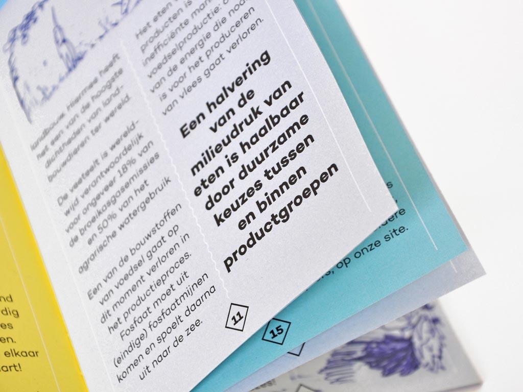 DWARS Groen Eten gids close-up