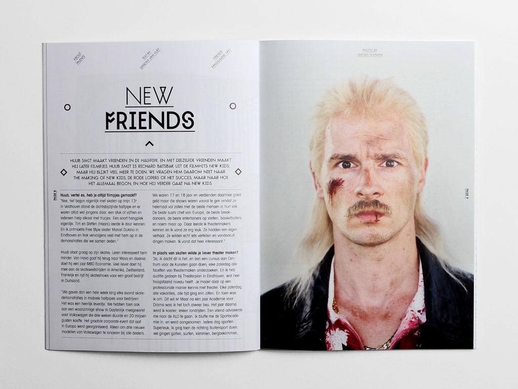 Maggazine Den Haag spread