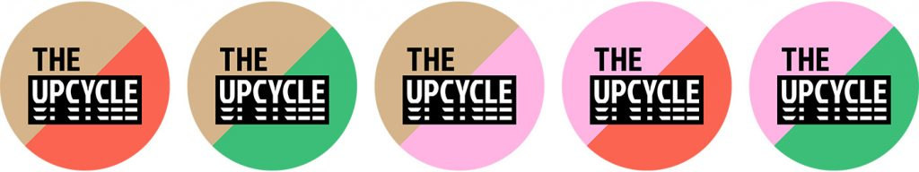 The Upcycle logo's rond