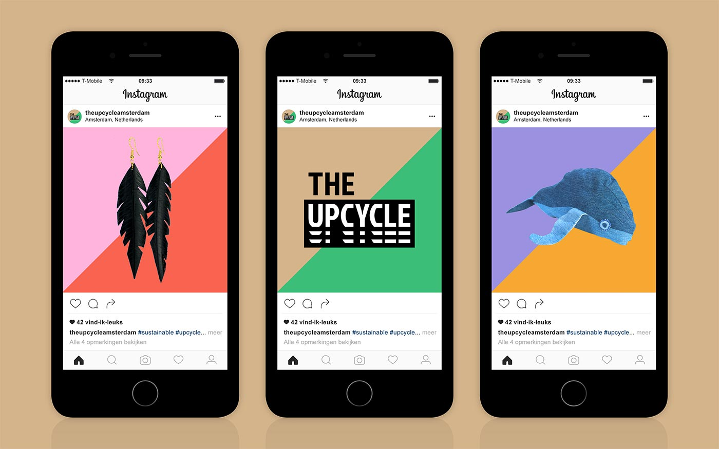 The Upcycle Instagram